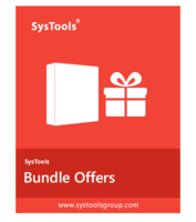 >20% Off Coupon code Bundle Offer - SysTools DBX Converter + EML Converter