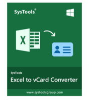 >20% Off Coupon code SysTools Excel to vCard